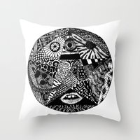 B&W Throw Pillow