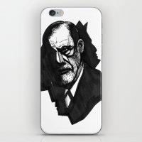 Sigmund Freud iPhone & iPod Skin