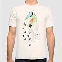 Geoseahorse Mens Fitted Tee Natural SMALL