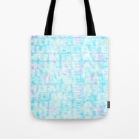 Hum Blue Tote Bag