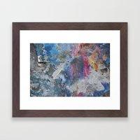 PAINTING STUDIO FLOOR-DU… Framed Art Print