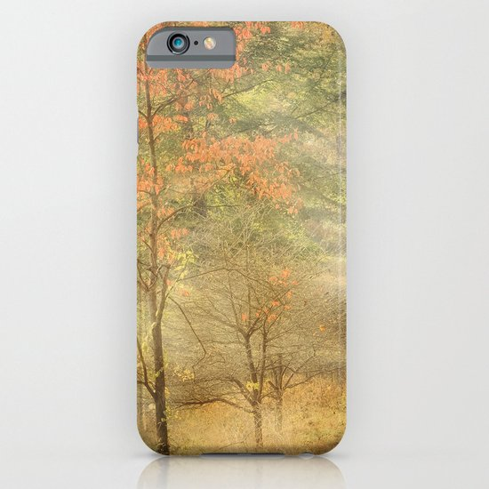 Fall red iPhone & iPod Case