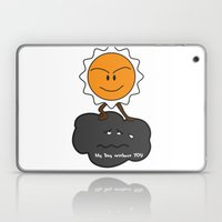 my day without you Laptop & iPad Skin