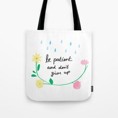 Motivational thoughts Tote Bag