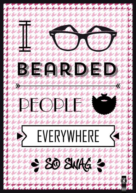 I See Bearded People Everywhere Art Print