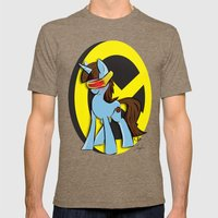 CyPony | Mutant Little Ponies Mens Fitted Tee Tri-Coffee SMALL