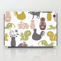 Country Silhouettes iPad Case