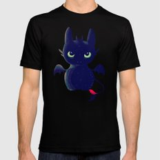 Night Fury SMALL Mens Fitted Tee Black