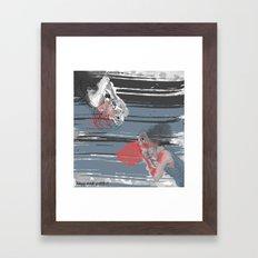 Hardly Ever Worth it Framed Art Print