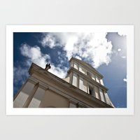 He Is There Art Print