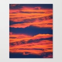 Endless sky Canvas Print