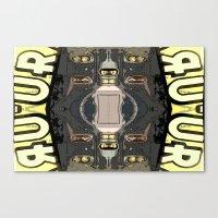 Bender's Discombobulatio… Canvas Print