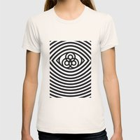 Third Eye Womens Fitted Tee Natural SMALL