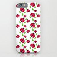 Ladybird pattern iPhone 6 Slim Case
