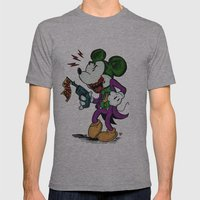 Why So Serious?  Mens Fitted Tee Athletic Grey SMALL