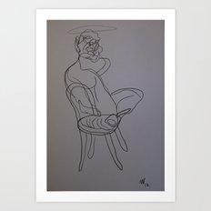 FRANCIS BACON 1 Art Print