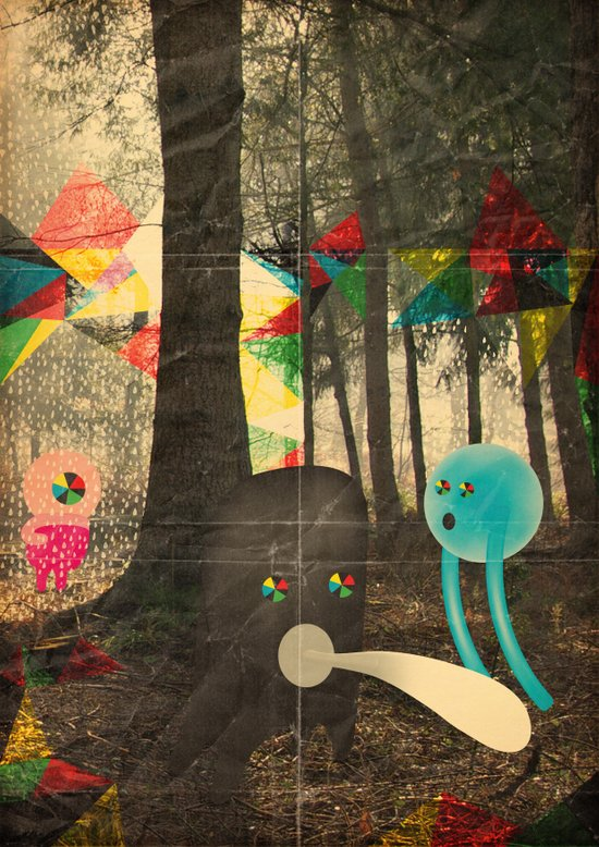 occhio bao Canvas Print