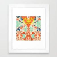 Nomad Dawn Framed Art Print