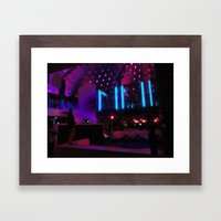 Miami South Beach Nightclub  Framed Art Print