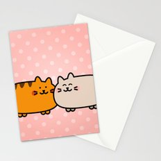 Romantic Cats Stationery Cards