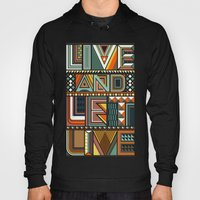 LIVE & LET LIVE Hoody