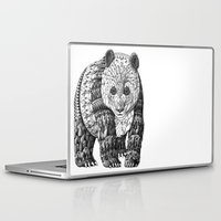panda Laptop & iPad Skins featuring Panda by BIOWORKZ