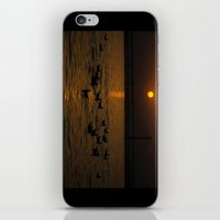 Painting A Golden Pictur… iPhone & iPod Skin