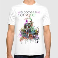 Welcome 2 The Darkside Mens Fitted Tee White SMALL
