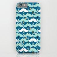 Mustache Waves iPhone 6 Slim Case