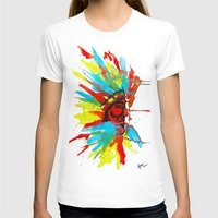 native american T-shirts featuring Native American by ART HOLES