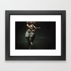 Abyss Of The Disheartene… Framed Art Print