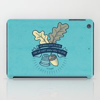 We Don't Know How To Sto… iPad Case