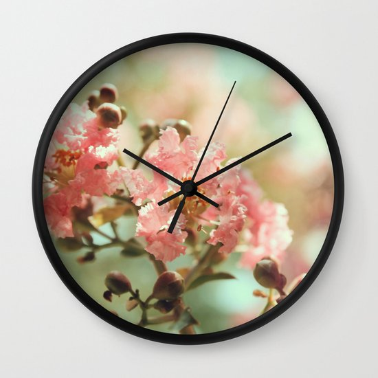 Soft and Sweet! Wall Clock