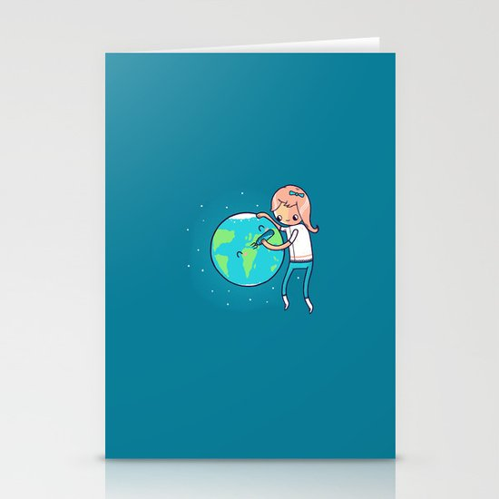 Earth Mother Stationery Card