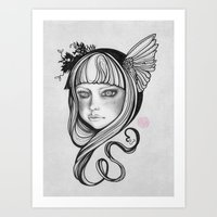 Skågsrå I Art Print