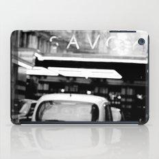 London Savoy hotel iPad Case