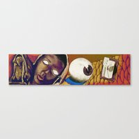 Hunger: Reality In Abstr… Canvas Print