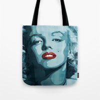 Brass Knuckle Marilyn Mo… Tote Bag