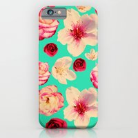 iPhone & iPod Case featuring Sweet flower Blast! by eddiek3