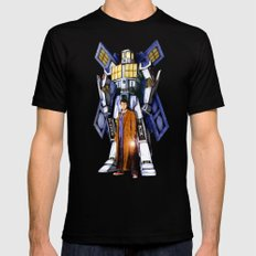 tardis Doctor Who Mashup transformers Phone Box Robot iPhone 4 4s 5 5c 6, pillow case and tshirt Mens Fitted Tee Black SMALL