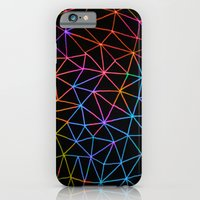 iPhone & iPod Case featuring Geometric Glow by Fimbis