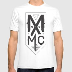 MXMC SMALL White Mens Fitted Tee