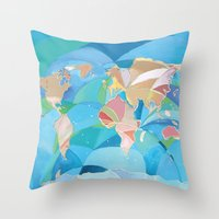 Oh The Places You Will G… Throw Pillow