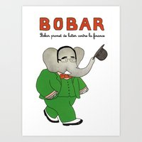 Bobar Art Print