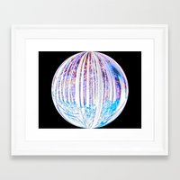 Black Hole Within Framed Art Print