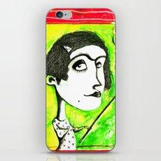 SMOKER ONE iPhone & iPod Skin