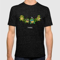 TMNS Mens Fitted Tee Tri-Black SMALL