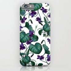 Violets #society6 #decor #buyart iPhone 6 Slim Case