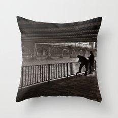 Autumnal Symphony Of A M… Throw Pillow