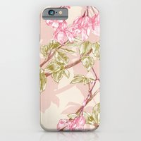 iPhone & iPod Case featuring Flower Sketch by Eachen Chen